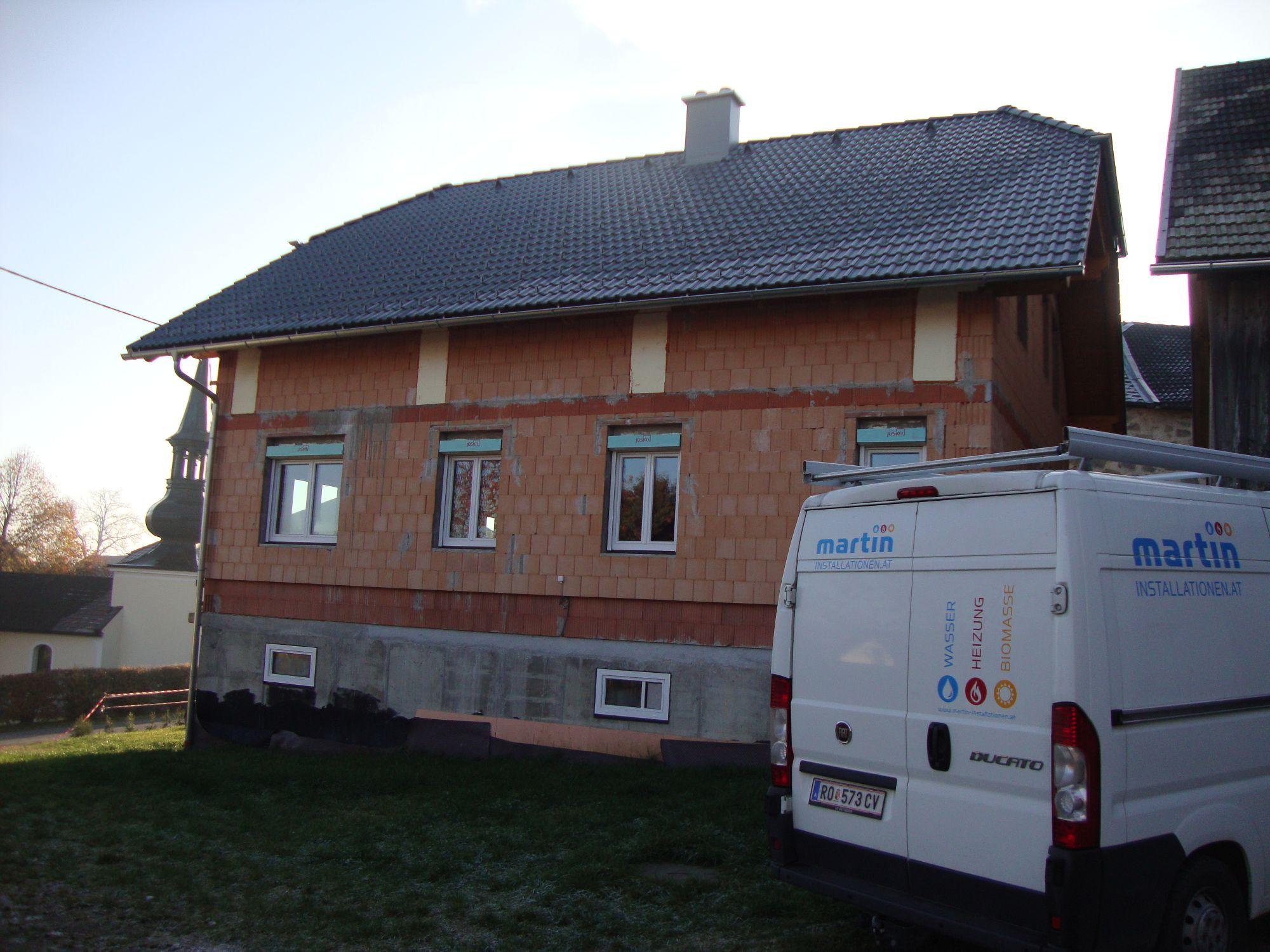 Installation Einfamilienhaus